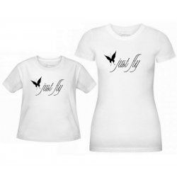 T-shirty mama i córka Just Fly