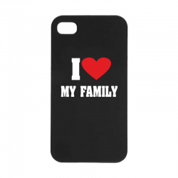 "Etui ""I love my family"""